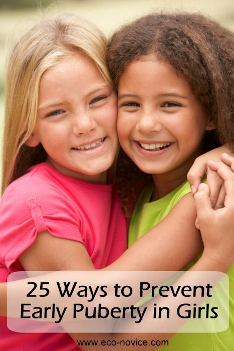 How to Prevent Early Puberty in Girls ~ Eco-novice. Just in case we have a girl someday