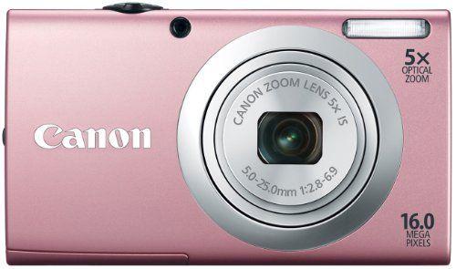 Canon Powershot A2400 IS - Cámara de fotos digital compacta (16 MP, pantalla LCD 2,7 pulgadas, zoom óptico 5x), color rosa B0078XJHHE - http://www.comprartabletas.es/canon-powershot-a2400-is-camara-de-fotos-digital-compacta-16-mp-pantalla-lcd-27-pulgadas-zoom-optico-5x-color-rosa-b0078xjhhe.html