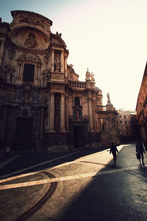 Plaza del Cardenal Belluga. Murcia.