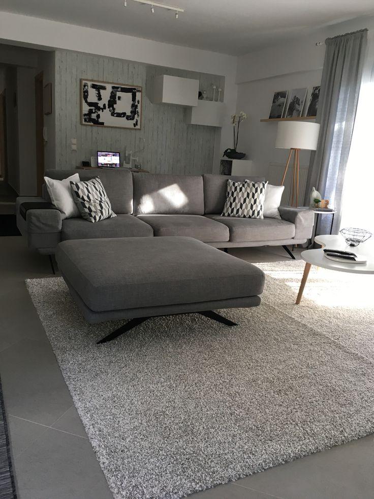 shades of grey, contemporary, minimal, Scandinavian interior