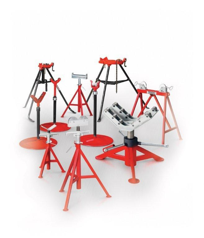 A Full Range Of Heavy Duty Adjustable Pipe Stands Are