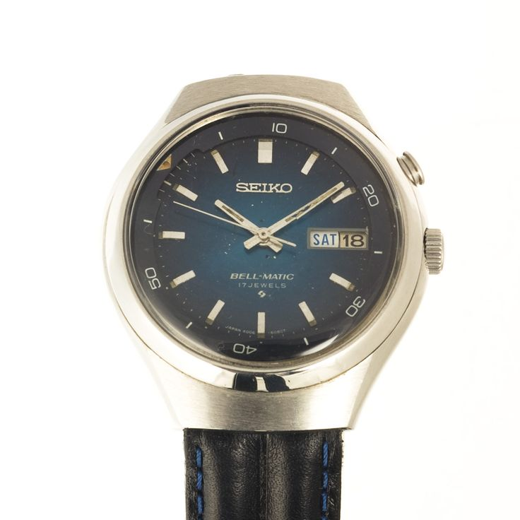 seiko Bell-matic watch for adults