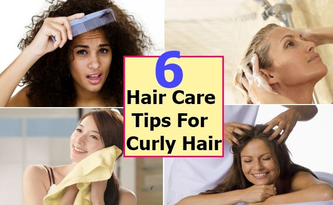 Top 6 Hair Care Tips For Curly Hair