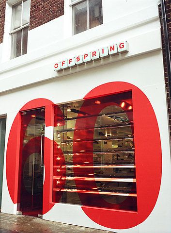 60! — superbold typography. I like the interaction with the window and door—really great replacement for the sign.