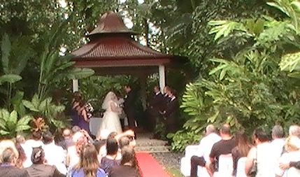 Cairns Colonial Club wedding in 2014.  What a lovely couple.