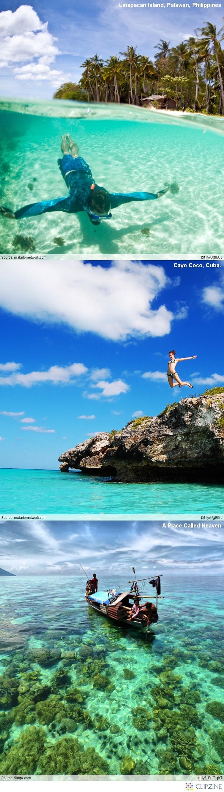 27 de los mejores lugares en el mundo para la nadada