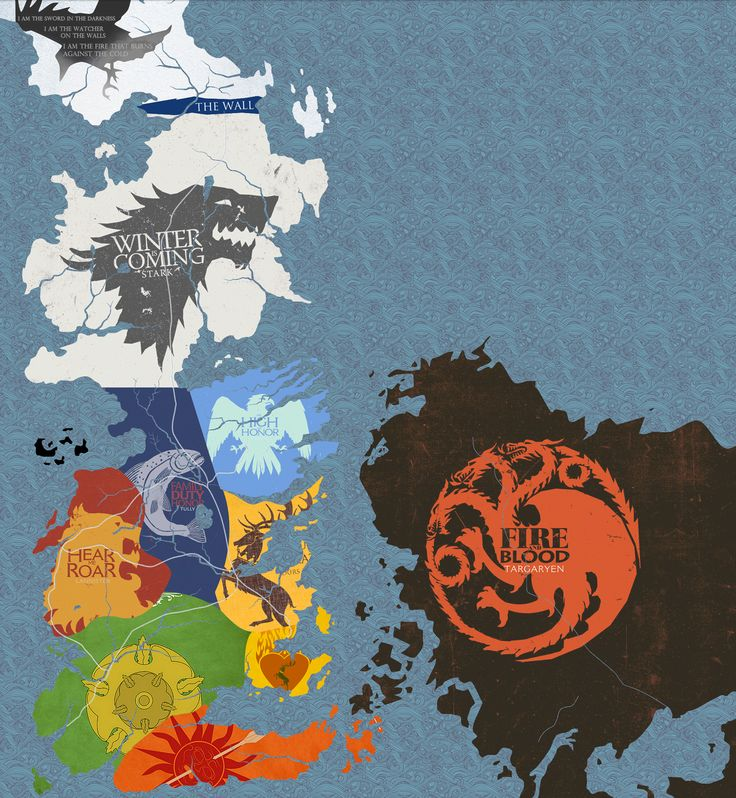 Game of Thrones map                                                       …