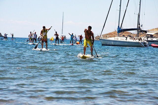 Stand Up Paddle Races in Kea!