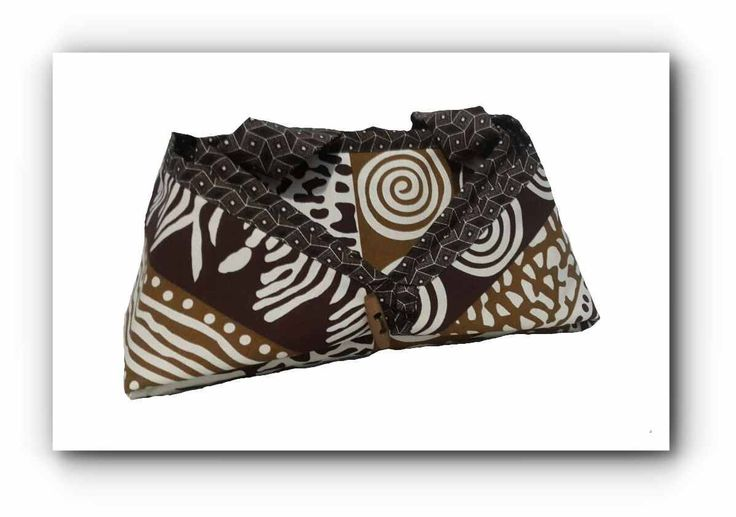 2-in-1 Brown Shweshwe African Print Ironing caddy / ironing mat by gogothabo on Etsy