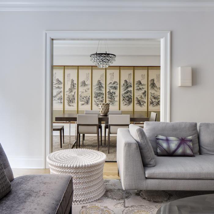 Platt Dana Architects New York renovation living