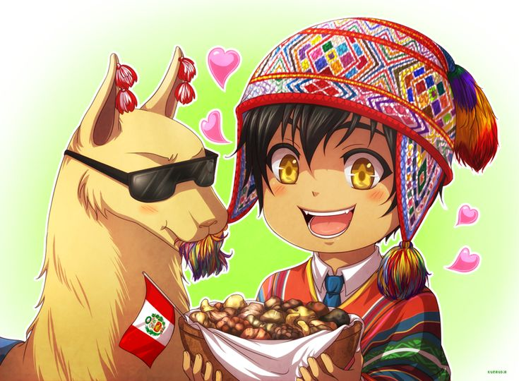 """kuraudia: """" May 30th was the National day of the Potato in Peru♥. (Because the origin of the Potatoes is Peru, also because we have more than 3000 native varieties of Potatoes… And because we love Potatoes♥ ). So… Happy belated Potato Day!♥~ """""""