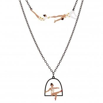 trapeze necklace - love it!