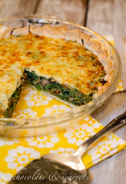 Cowboy quiche...don't worry you don't have to be a cowboy to enjoy it!