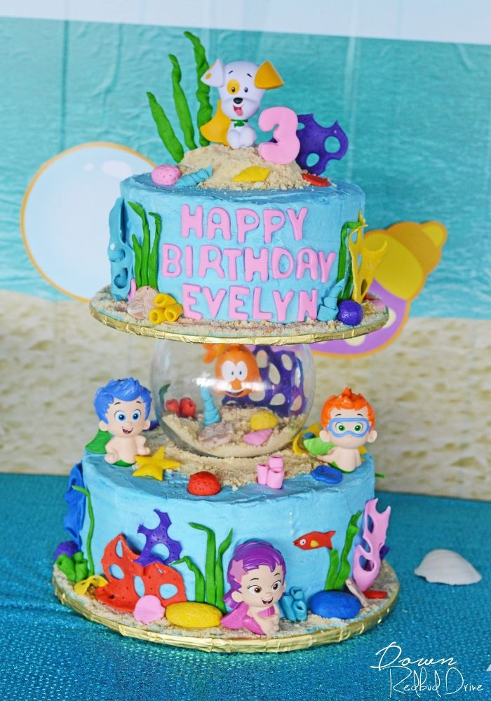 Pleasing Bubble Guppies Birthday With Images Bubble Guppies Birthday Birthday Cards Printable Trancafe Filternl