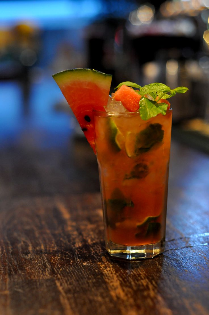 Watermelon Mojito @Black Jack Pub