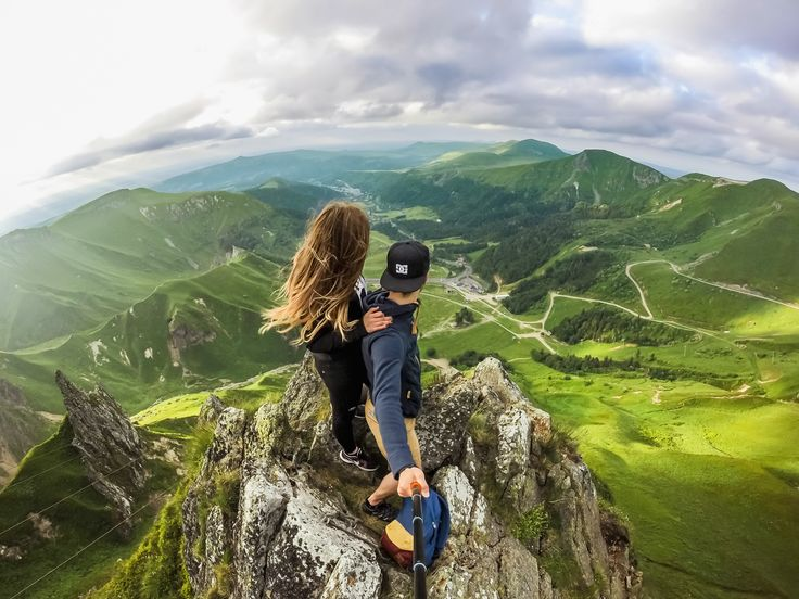 Morgane Savignat and her boyfriend prove that couples that adventure together, stay together. #GoProGirl #ValentinesDay #RelationshipGoals #GoPro