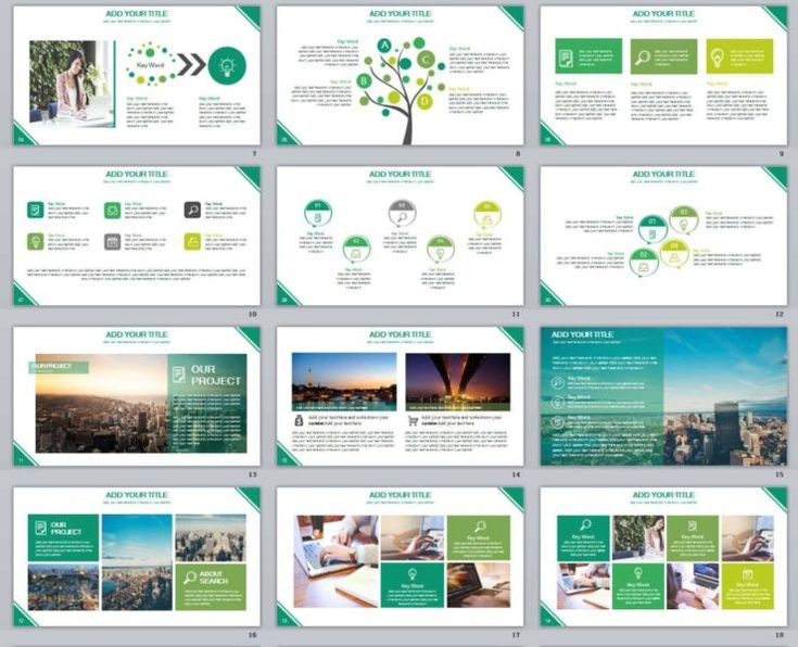 Best Best Annual Report Powerpoint Templates Images On