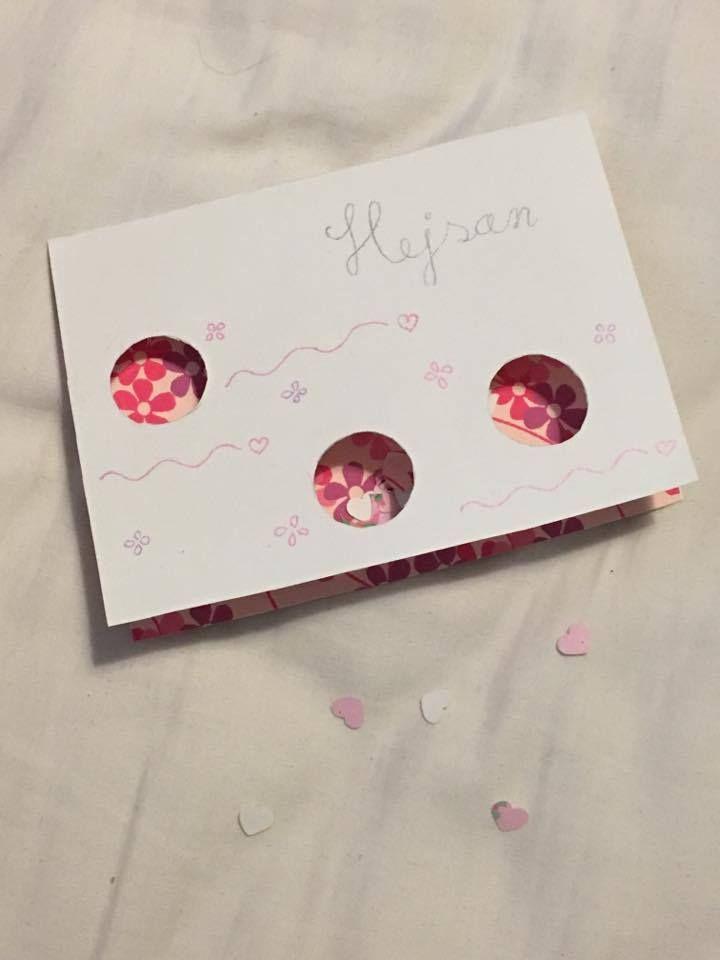 Hejsan -yllätyskortti rakkaalle