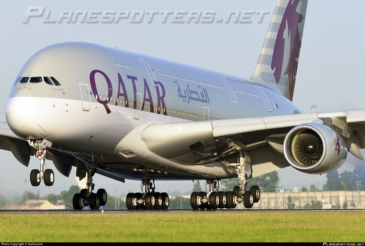 A7-APB Qatar Airways Airbus A380-861