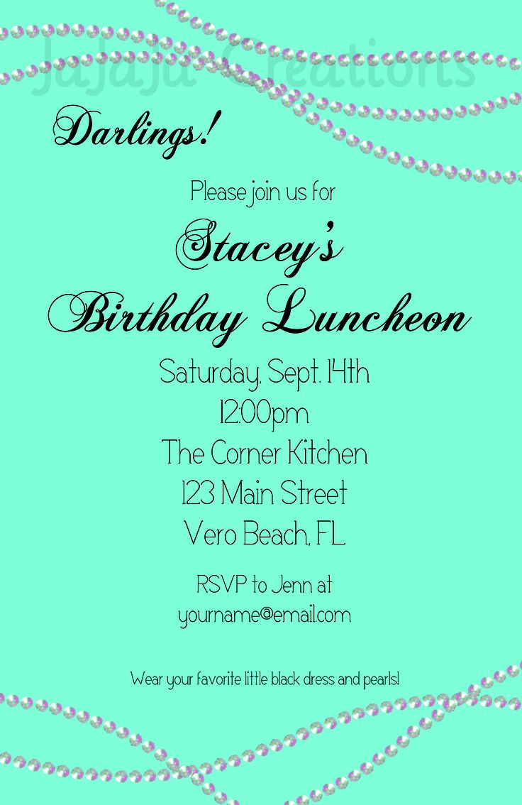 54 best Bridal showers images on Pinterest | Breakfast at tiffanys ...