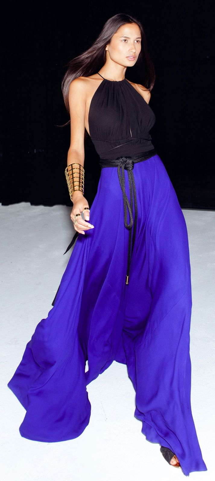 Juan Carlos Obando - SPRING 2013 - Model: Varsha Thapa