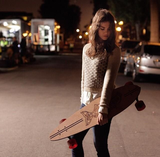 We love Maia Mitchell's effortless style. | The Fosters