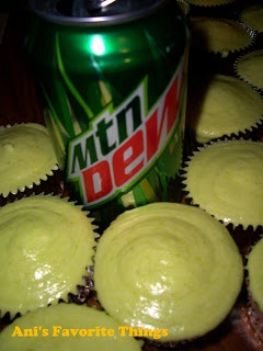 Mountain Dew Cupcakes  - We've got a lot of Dew lovers in Montana!