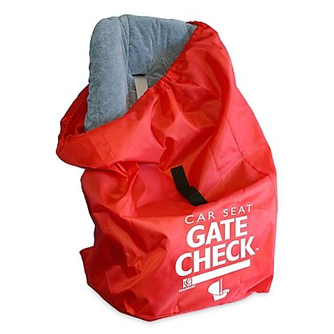 Use This Handy Compact Travel Bag When Gate Checking A Car Seat Or Infant