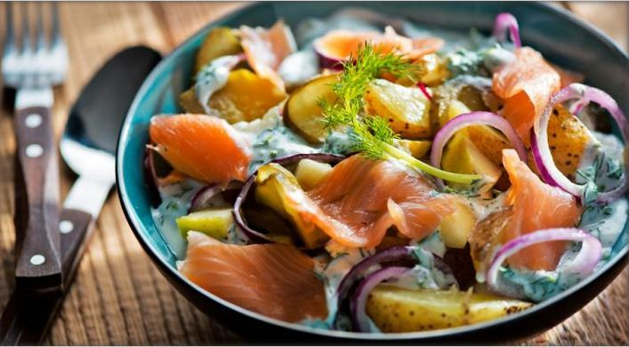 Norwegian Salad. North fragrance, a salad worthy of real Vikings! Read more at http://www.myrecipemagic.com/recipe/recipedetail/norwegian-salad#ZkUJDdRRm0ueSGr4.99