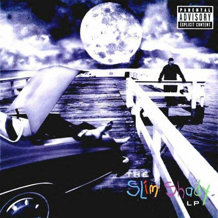 Eminem The Slim Shady Lp Album Artwork Pinterest