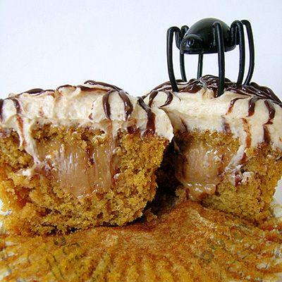 Dulce De Leche Pumpkin Cupcakes