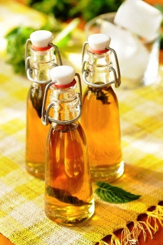 Homemade Peppermint Extract!  http://www.funkycook.gr/spitiko-ekchilisma-mentas/#