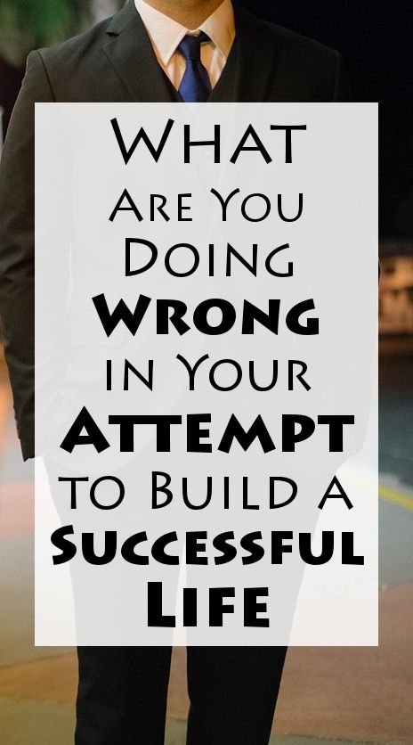 We all make mistakes. Every day, week or month.  But, it can be very frustrating when these mistakes are happening over and over again, and preventing your life improvement. As much as you try, no matter the tactics you use, you just can't seem to build a successful life.  That sounds familiar?  #success #successfullife #lifeimprovement  MORE> http://liveyourdreams.tips/life-improvement/build-successful-life/