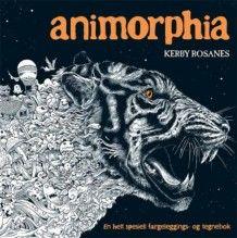 Animorphia. En helt spesiell fargeleggings- og tegnebok av Kerby Rosanes (Innbundet)