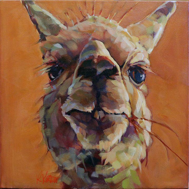 """Unflappable"" acrylic on 12"" x 12"" canvas #pets # portraits #contemporary #art #imagesstudiotour #Canadian"