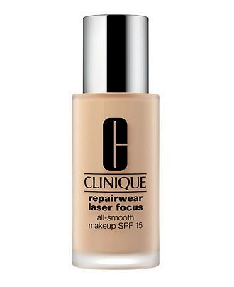 Clinique Repairwear Laser Focus All-Smooth Makeup Foundation SPF 15 - Foundations - Beauty - Macy's -- number one recommended foundation for women over 40.
