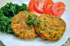Hambúrguer de Arroz e Cenoura sem Glúten                                                                                                                                                                                 Mais