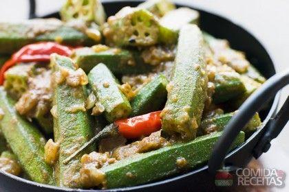 Receita de Quiabos fritos em receitas de legumes e verduras, veja essa e outras receitas aqui!