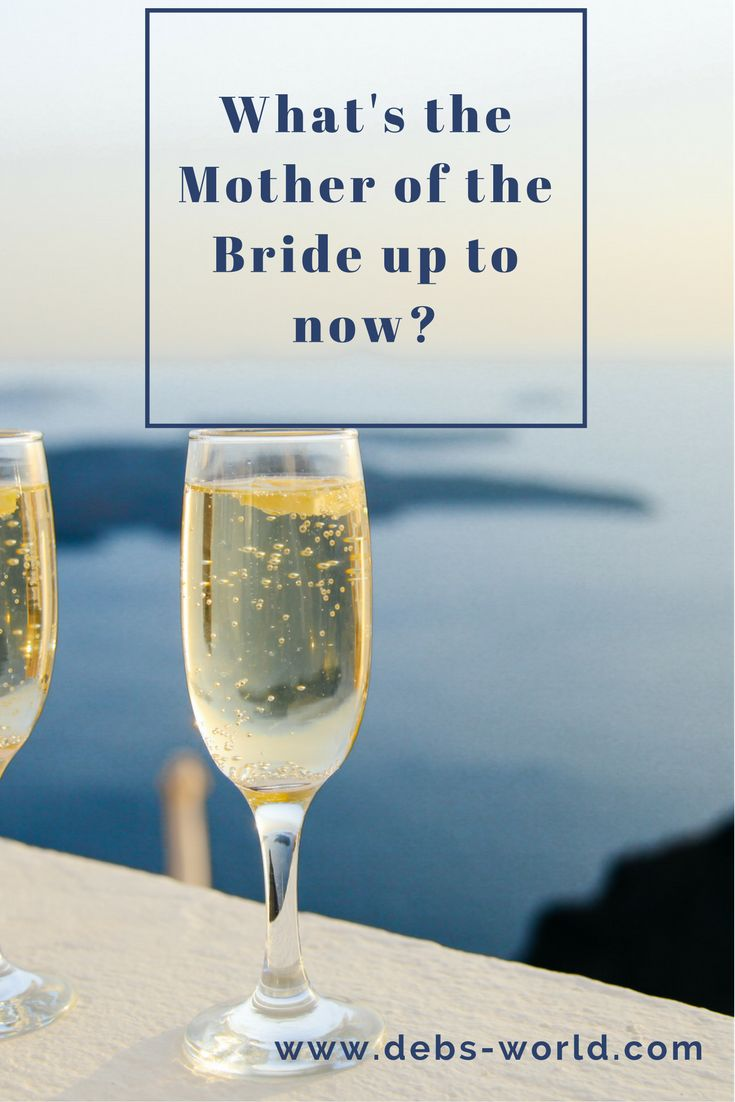 What does a Mother of the Bride do while waiting for the wedding - she blogs about it!!