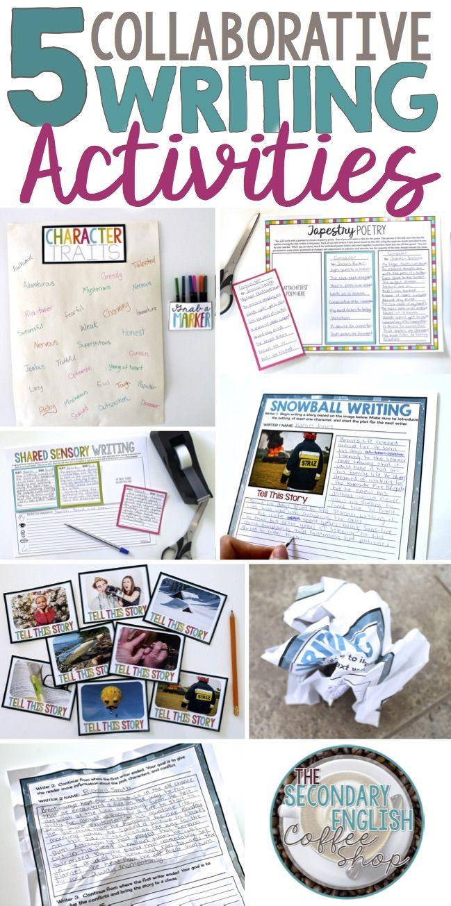 Collaborative Classroom Writing ~ Best writing activities ideas on pinterest writer