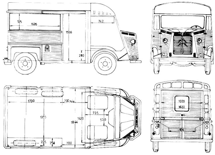 Citroën HY Vans Cars And Wheels - Cool decals for truckspeugeot cool promotionshop for promotional peugeot cool on