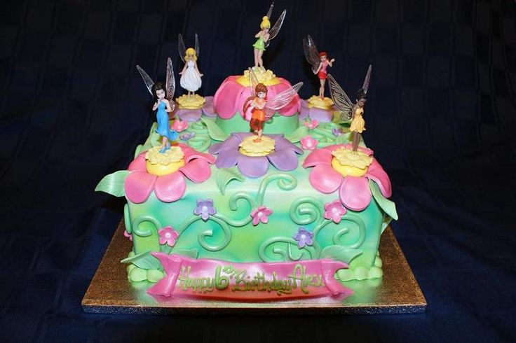 Goldilocks Cake Design For 60th Birthday : 30 curated Claire s 4th Birthday! (Tinkerbell) ideas by ...