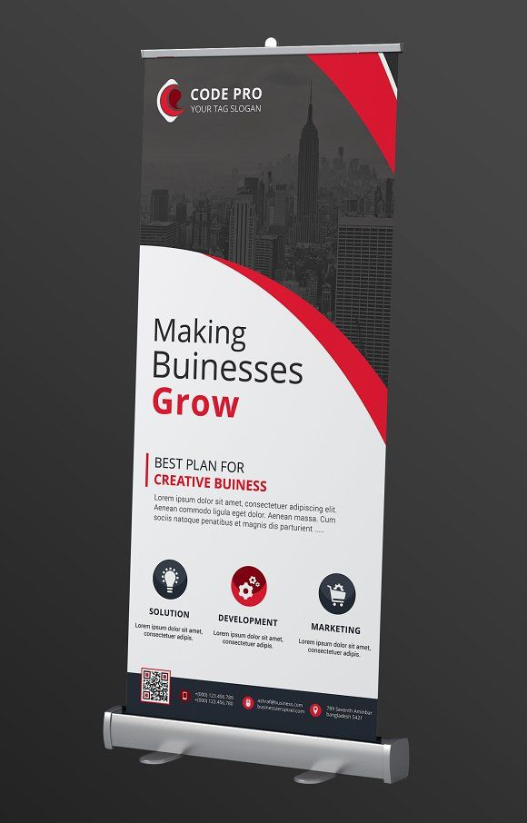Rollup Banner by Creative Idea on @Graphicsauthor