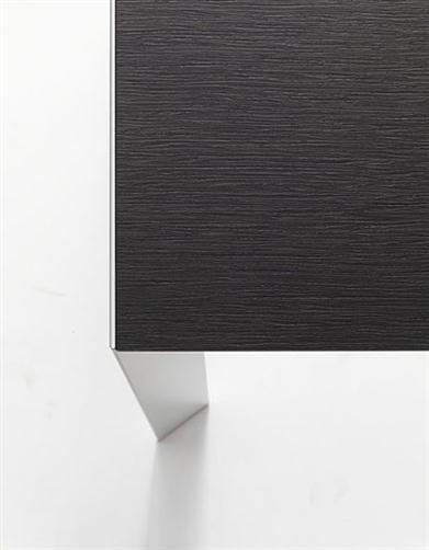 Nori Black And White Aluminum Table By Bartoli Design #furniture #table