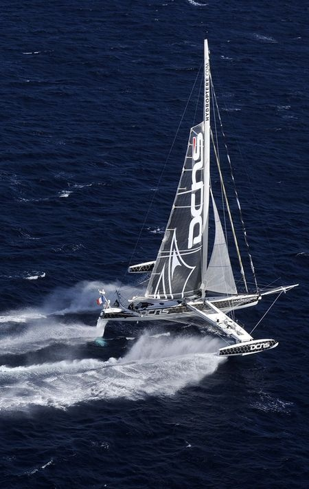 Fastest sailboat in the world.