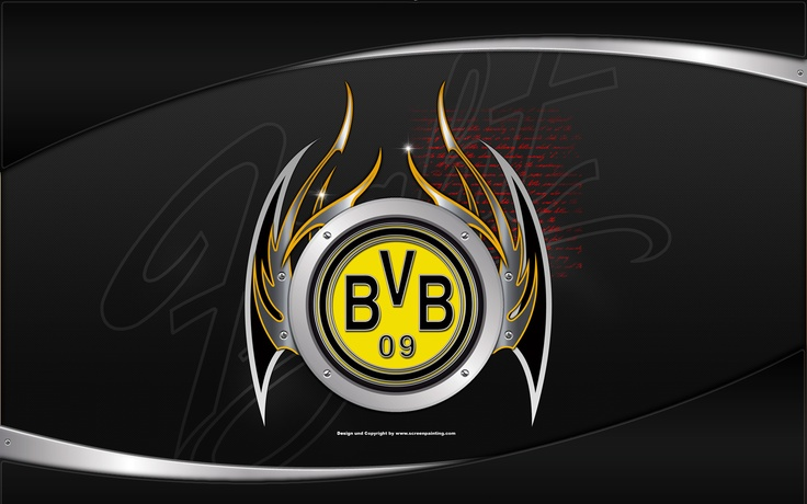 BVB 09 screenpainting.at Wallpaper | bvb09 | Pinterest ...