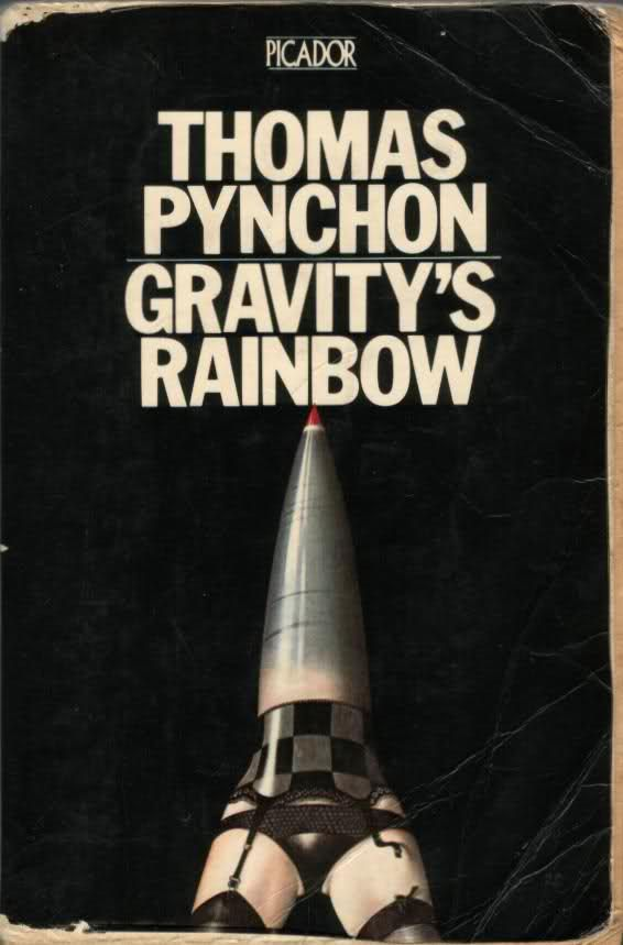 Gravity's Rainbow, Thomas Pynchon One of the best opening sentences of all time, OF ALL TIME.