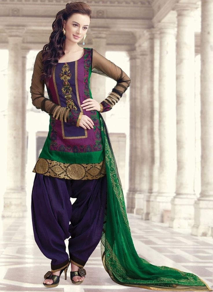 Indian Patiala Salwar Kameez