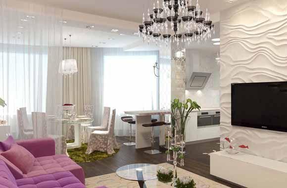 КВАРТИРА  124 m2. Дизайн проект интерьера.Architect Irina Richter. INSIDE-STUDIO Prague