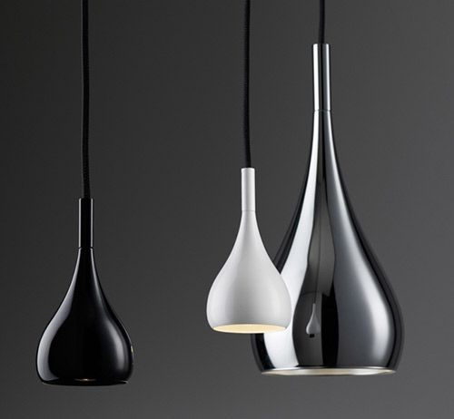 Trendir - Home Decorating Trends magazine - Metal Pendant Lights by Fabbian